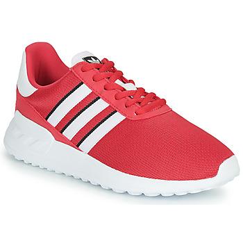 kengät Tytöt Matalavartiset tennarit adidas Originals LA TRAINER LITE J Vaaleanpunainen