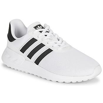 kengät Lapset Matalavartiset tennarit adidas Originals LA TRAINER LITE J Valkoinen / Musta