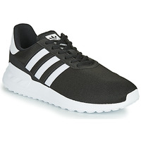kengät Lapset Matalavartiset tennarit adidas Originals LA TRAINER LITE J Black / White