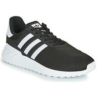 kengät Lapset Matalavartiset tennarit adidas Originals LA TRAINER LITE J Musta / Valkoinen