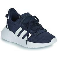 kengät Pojat Matalavartiset tennarit adidas Originals U_PATH RUN C Laivastonsininen / Valkoinen