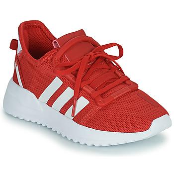 kengät Lapset Matalavartiset tennarit adidas Originals U_PATH RUN C Punainen