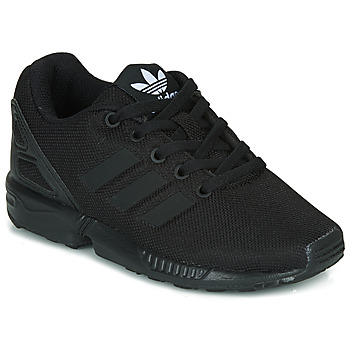 kengät Lapset Matalavartiset tennarit adidas Originals ZX FLUX C Black