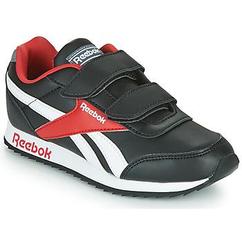 kengät Lapset Matalavartiset tennarit Reebok Classic REEBOK ROYAL CLJOG Black / White / Red