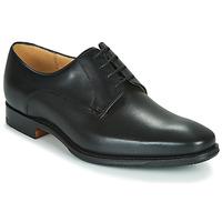 kengät Miehet Derby-kengät Barker ELLON Musta