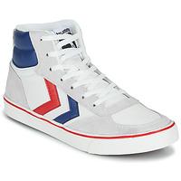 kengät Korkeavartiset tennarit Hummel STADIL HIGH OGC 3.0 White / Blue / Red