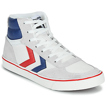 kengät Korkeavartiset tennarit Hummel STADIL HIGH OGC 3.0 White / Blue / Red