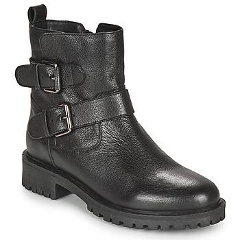 kengät Naiset Nilkkurit Geox HOARA Black