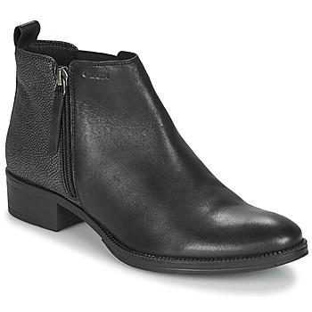 kengät Naiset Nilkkurit Geox LACEYIN Black / Hopea