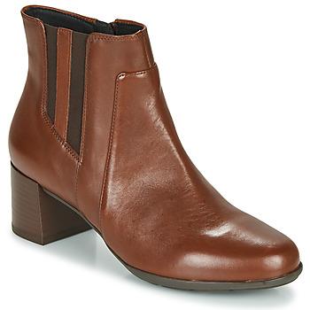 kengät Naiset Nilkkurit Geox NEW ANNYA MID Brown