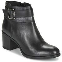 kengät Naiset Nilkkurit Geox NEW ASHEEL Black