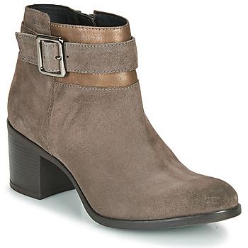 kengät Naiset Nilkkurit Geox NEW ASHEEL Beige