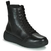 kengät Naiset Bootsit Geox PHAOLAE Black