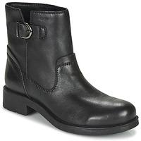 kengät Naiset Bootsit Geox RAWELLE Black