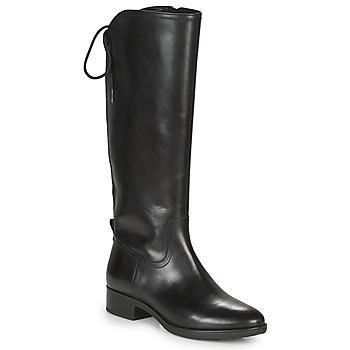 kengät Naiset Saappaat Geox FELICITY Musta
