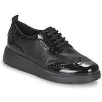 kengät Naiset Derby-kengät Geox ARLARA Black