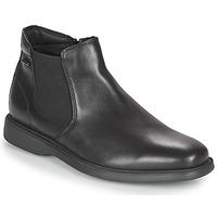 kengät Miehet Bootsit Geox BRAYDEN 2FIT ABX Musta