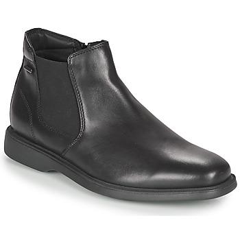 kengät Miehet Bootsit Geox BRAYDEN 2FIT ABX Black