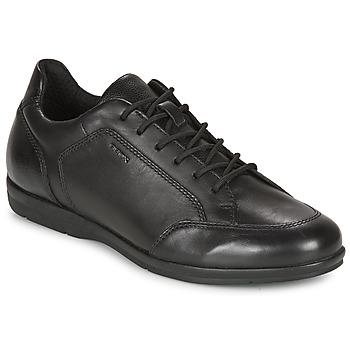 kengät Miehet Derby-kengät Geox ADRIEN Black