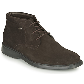 kengät Miehet Bootsit Geox BRAYDEN 2FIT ABX Ruskea