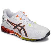 kengät Miehet Matalavartiset tennarit Asics GEL-QUANTUM 360 6 White / Orange / Green