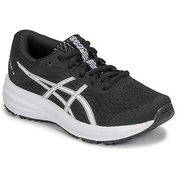 kengät Lapset Juoksukengät / Trail-kengät Asics PATRIOT 12 GS Black / White