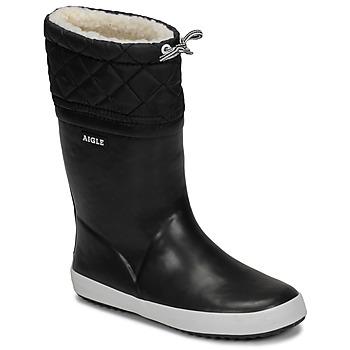 kengät Lapset Talvisaappaat Aigle GIBOULEE Black