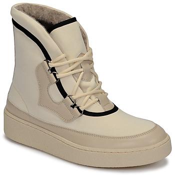 kengät Naiset Talvisaappaat Aigle SKILON HIGH White
