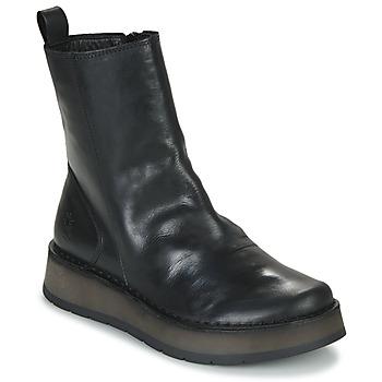 kengät Naiset Bootsit Fly London RENO Black