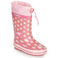 kengät Tytöt Kumisaappaat Kangaroos K-RAIN Pink
