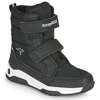 kengät Lapset Kumisaappaat Kangaroos K-MAJOR V RTX Black