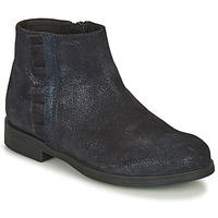kengät Tytöt Bootsit Geox AGGATA Laivastonsininen