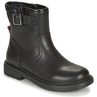kengät Tytöt Bootsit Geox ECLAIR Black