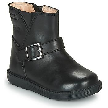 kengät Tytöt Saappaat Geox HYNDE WPF Musta