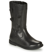 kengät Tytöt Saappaat Geox SHAWNTEL Black
