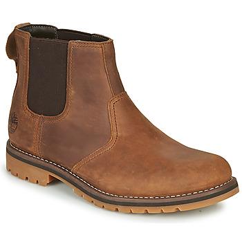 kengät Miehet Bootsit Timberland LARCHMONT II CHELSEA Ruskea
