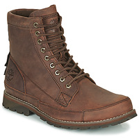 kengät Miehet Bootsit Timberland ORIGINALS II LTHR 6IN BT Brown