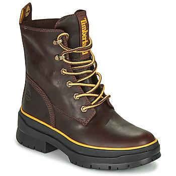 kengät Naiset Bootsit Timberland MALYNN MID LACE EK+ WP Brown / Fonce
