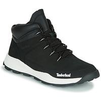 kengät Lapset Bootsit Timberland BROOKLYN EURO SPRINT TD Musta