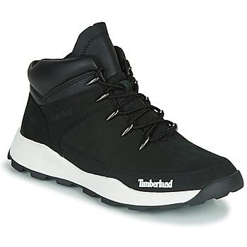 kengät Lapset Bootsit Timberland BROOKLYN EURO SPRINT TD Black