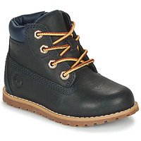 kengät Lapset Bootsit Timberland Pokey Pine 6In Boot with Blue
