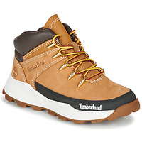kengät Lapset Korkeavartiset tennarit Timberland BROOKLYN EURO SPRINT Red multi wf sde