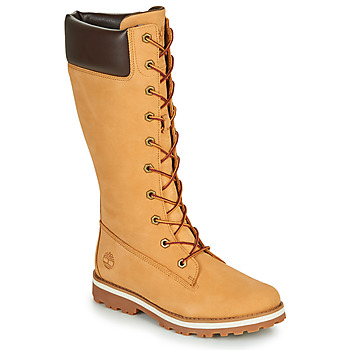 kengät Tytöt Saappaat Timberland COURMA KID GIRLS TALL ZIP Red multi wf sde
