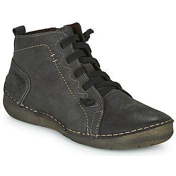 kengät Naiset Korkeavartiset tennarit Josef Seibel FERGEY 86 Grey