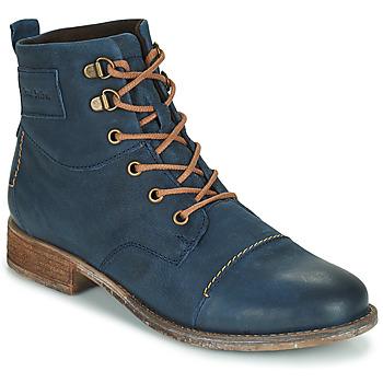 kengät Naiset Bootsit Josef Seibel SIENNA 17 Laivastonsininen
