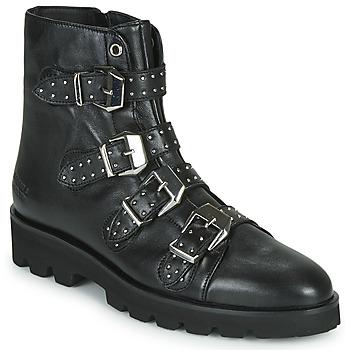 kengät Naiset Bootsit Melvin & Hamilton SUSAN Black