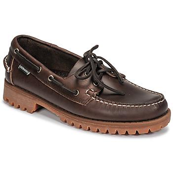 kengät Miehet Purjehduskengät Sebago RANGERWAXY Brown