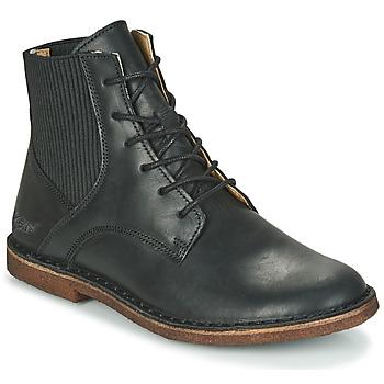 kengät Naiset Bootsit Kickers TITI Musta