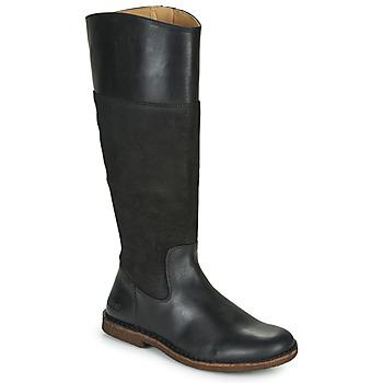 kengät Naiset Saappaat Kickers TAKIKO Musta