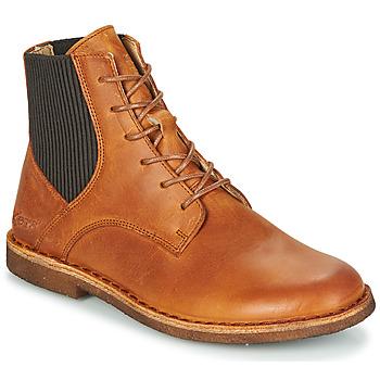 kengät Naiset Bootsit Kickers TITI Ruskea